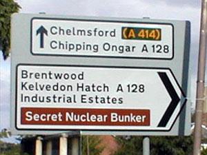 Bunker nuclear secreto
