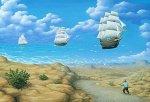 Barcos en el aire