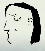 Retrato de un tío enfadado