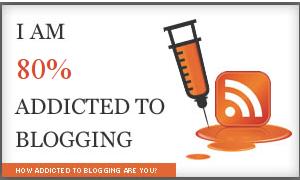 Mi nivel de adicción a los blogs