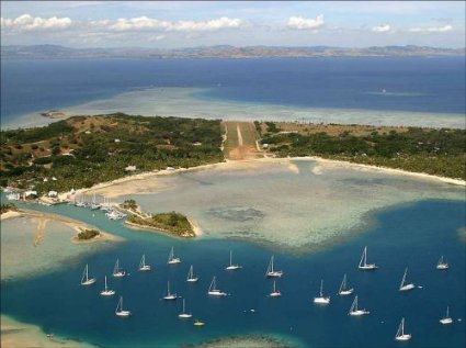 Aeropuerto en una isla