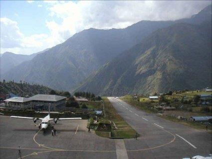 Aeropuerto en el Machu Pichu