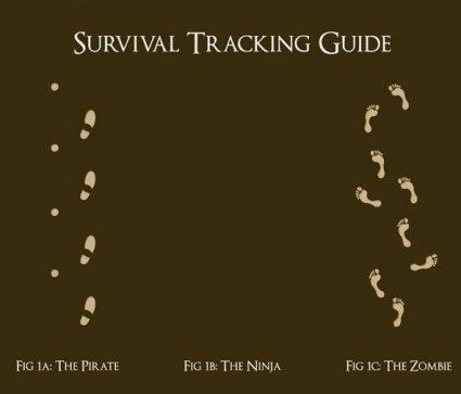 Lo que tienes que saber sobre huellas para sobrevivir