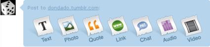 Tumblr, blog en un solo click