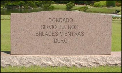 Lápida personalizada