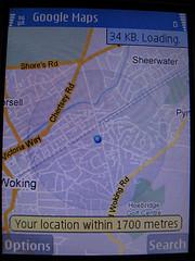 Mapas en un Nokia