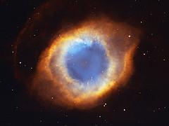 Constelación nebulosa de la hélice
