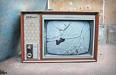 Televisión rota