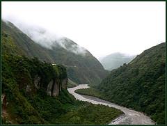Río Amazonas a su paso por Ecuador