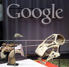 Google el dinosaurio come dinosaurios