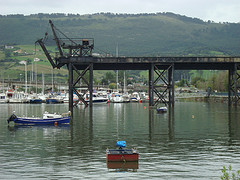 Puente grúa de Astillero
