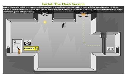 Portal: agujeros en el espacio