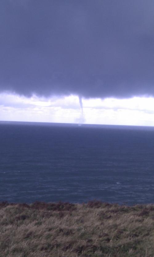 Tornado en Santander