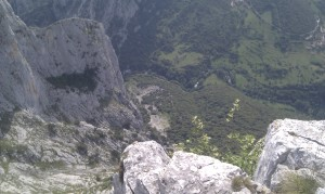 La Hermida desde Cueto Agero